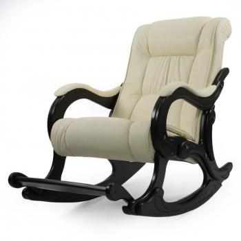 Кресло-качалка: Модель 77 Лидер, венге обивка Дунди 112