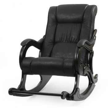 Кресло-качалка: Модель 77 Лидер, венге обивка Дунди 109