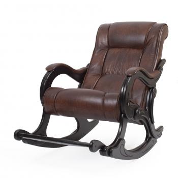 Кресло-качалка: Модель 77 Лидер, венге обивка Антик Крокодил