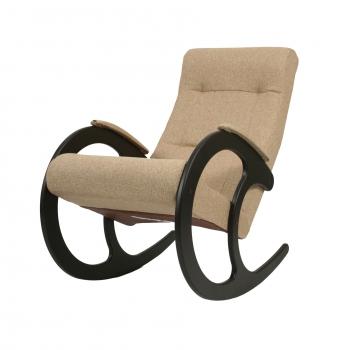 Кресло-качалка: Модель 3, венге обивка Мальта 03 А