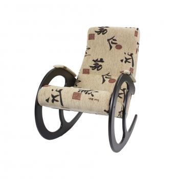 Кресло-качалка: Модель 3, венге обивка Токио