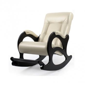 Кресло-качалка: Модель 44, венге обивка Орегон Перламутр 106