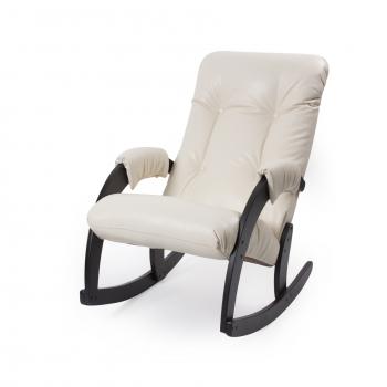 Кресло-качалка: Модель 67, венге обивка Vegas Lite Marfil