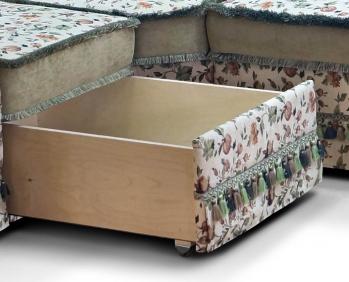 ШИК-740: 40+17+24+52+41 Набор - ящик в угловом диване, на примере аналогичной модели 741