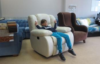 Вегас Reflex: Кресло реклайнер с качалкой
