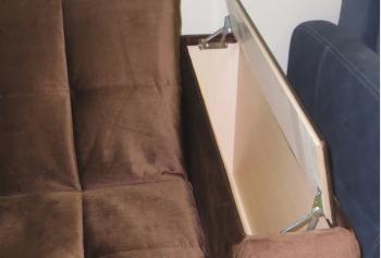 Гранд А: пример исполнения Короб внутри подлокотника