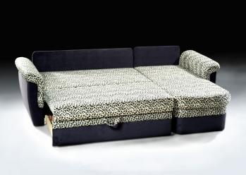 ШИК-410: 60+37+27+61 Угловой диван-кровать в положении кровать