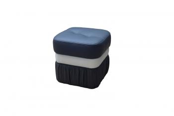 ШИК-Пуфы: п01 Пуф скругленный с емкостью для белья