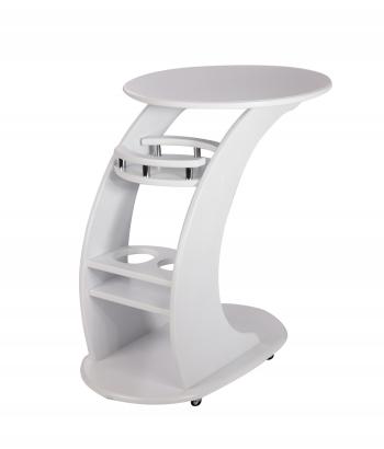 Висан Люкс: Придиванный столик молочный дуб