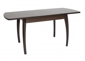 Обеденные группы Leset: Раздвижной стол Leset Шервуд 1Р цвет венге Т34 4 стула Бри со столом Лесь