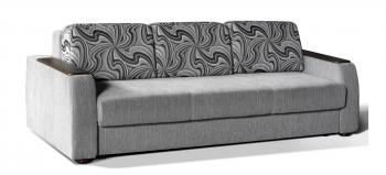 245: 80+56+81 Диван-кровать с накладками на подлокотниках