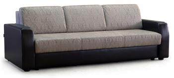 ШИК-245: 80+56+81 Диван-кровать с накладками на подлокотниках